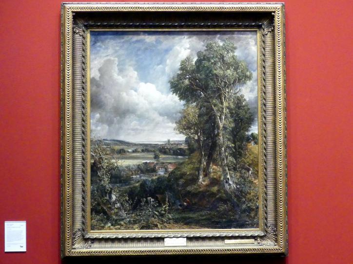 John Constable: Tal von Dedham, um 1828