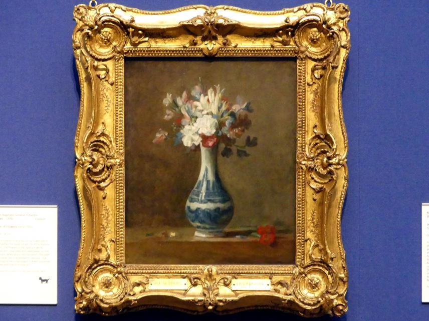Jean Siméon Chardin: Blumenvase, um 1760 - 1765