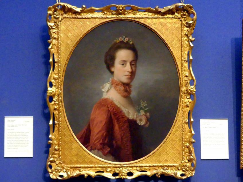 Allan Ramsay: Mary Degg, Ehefrau Robert Manners (1737-1829), um 1760 - 1770