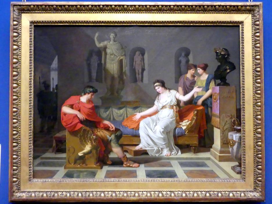 Louis Gauffier: Kleopatra und Oktavian, 1787 - 1788
