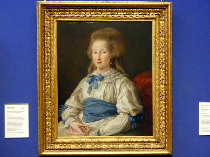 Pompeo Girolamo Batoni: Bildnis der Princess Cecilia Mahony Giustiniani (1741 - 1789), 1785
