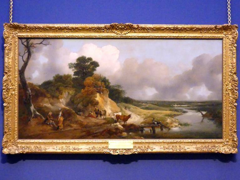 Thomas Gainsborough: Flusslandschaft mit Blick auf ein entferntes Dorf, um 1748 - 1750