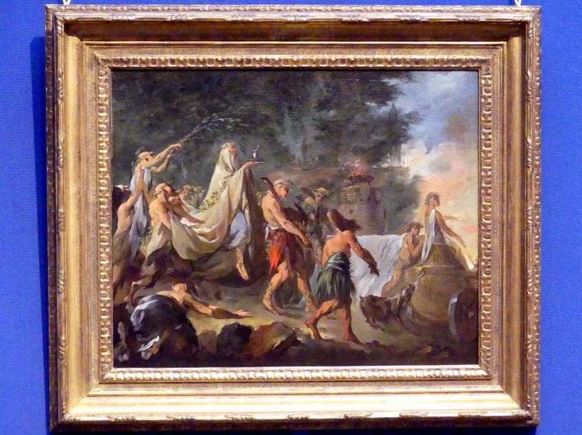 Noël Hallé: Keltisches Ritual, Undatiert