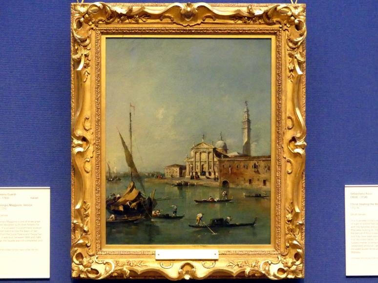 Francesco Guardi: San Giorgio Maggiore in Venedig, um 1770