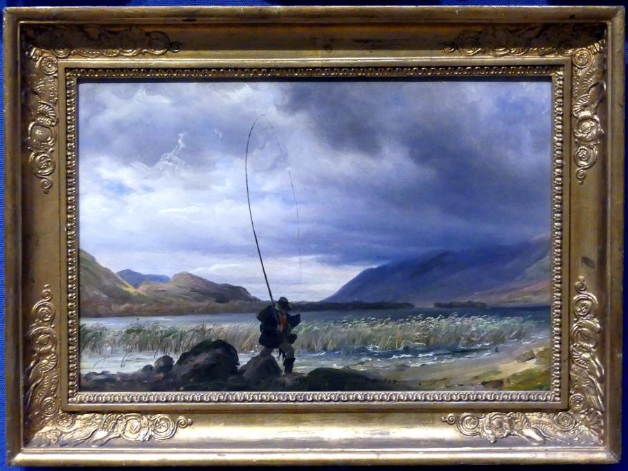Thomas Fearnley: Fischer bei Derwent Water, 1837
