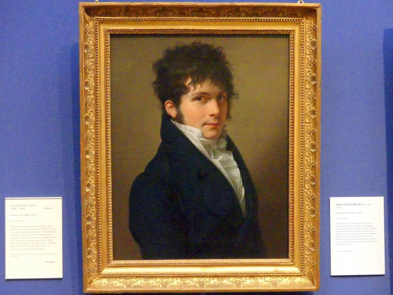 François-Xavier Fabre: Bildnis eines Mannes, 1809