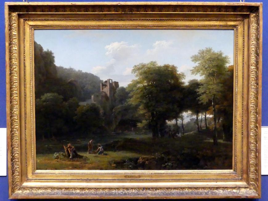 Jean-Victor Bertin: Klassische Landschaft, 1800
