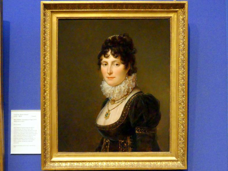 François Gérard: Mary Nisbet, Gräfin von Elgin (1777 - 1855), um 1804