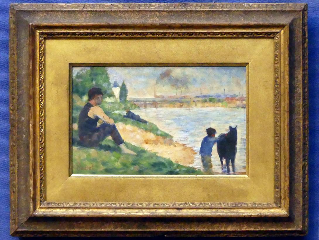 Georges Seurat: Studie für Die Badenden bei Asnières-sur-Seine, 1883