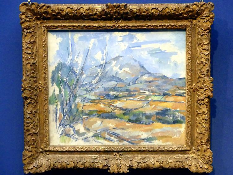 Paul Cézanne: Montagne Sainte-Victoire, um 1890 - 1900
