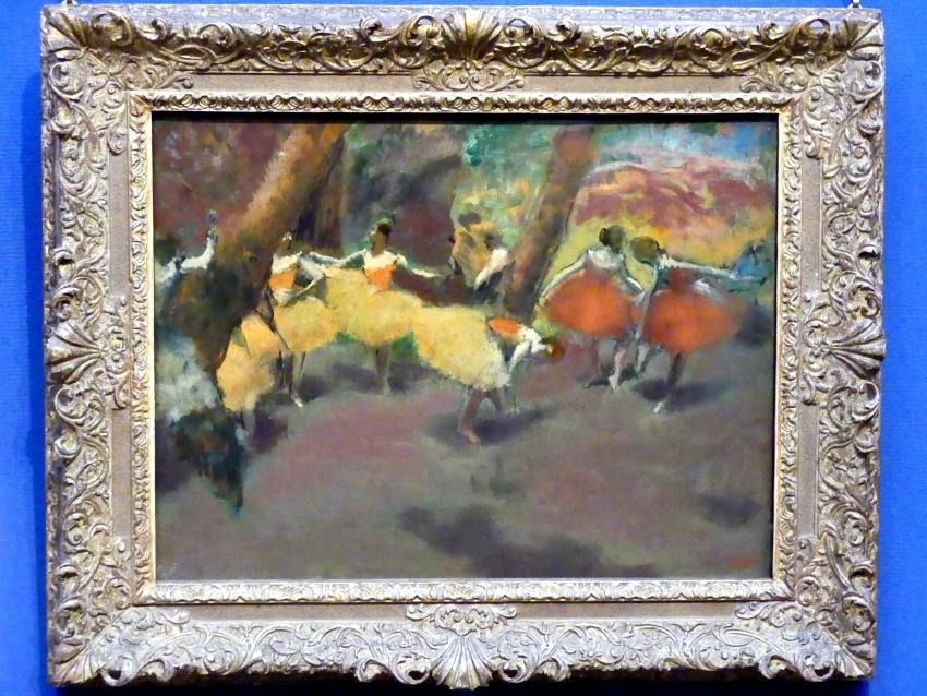Edgar Degas: Vor der Vorstellung, um 1890 - 1900