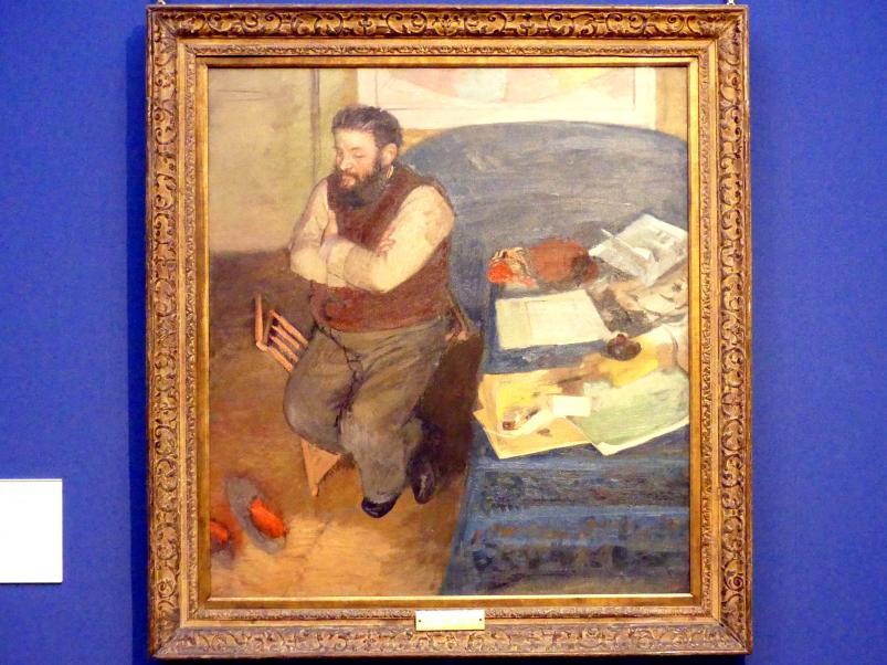 Edgar Degas: Porträt des Diego Martelli (1839-1896), 1879