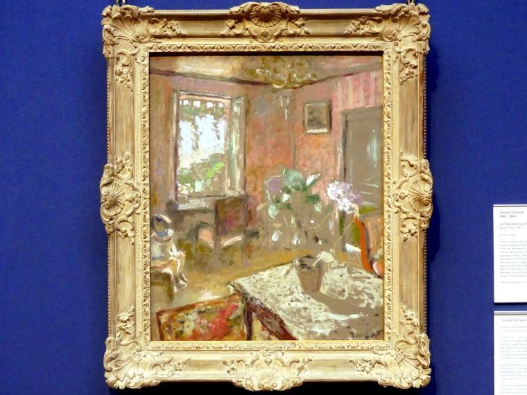 Édouard Vuillard: La Chambre rose (Der rosa Raum), um 1910 - 1911