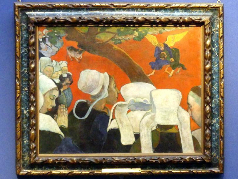 Paul Gauguin: Die Vision der Predigt, 1888
