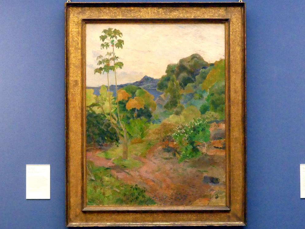 Paul Gauguin: Landschaft auf Martinique, 1887