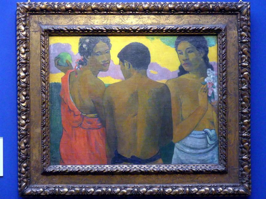 Paul Gauguin: Drei Tahitianer, 1899