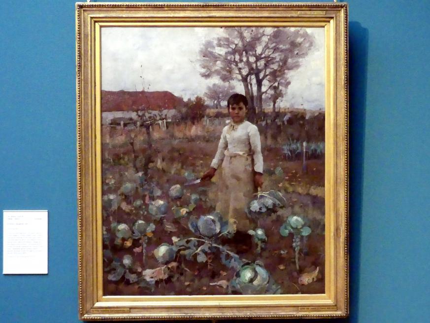 James Guthrie: Tochter eines Landarbeiters, 1883