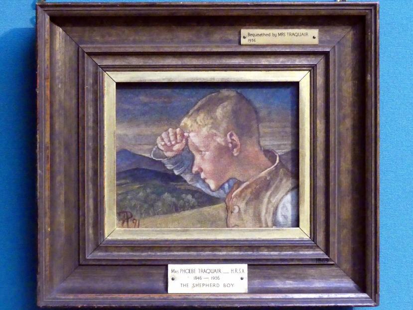 Phoebe Anna Traquair: Hirtenjunge, 1891