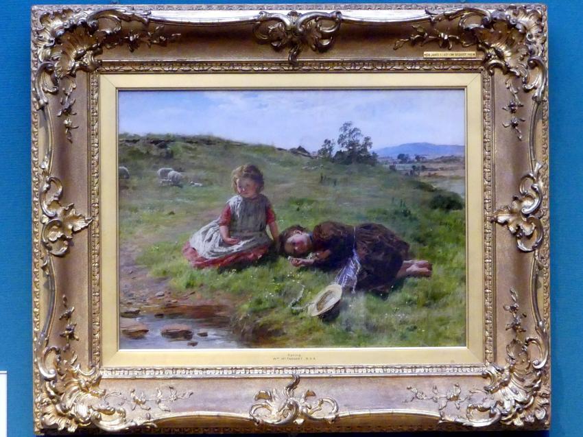 William McTaggart: Frühling, 1864