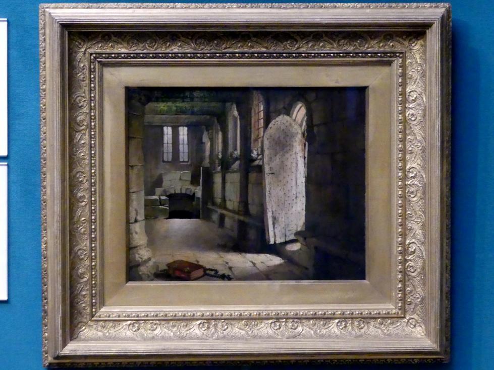 William Dyce: Blick auf Südtür und Schiff der Rosslyn-Kapelle, um 1830