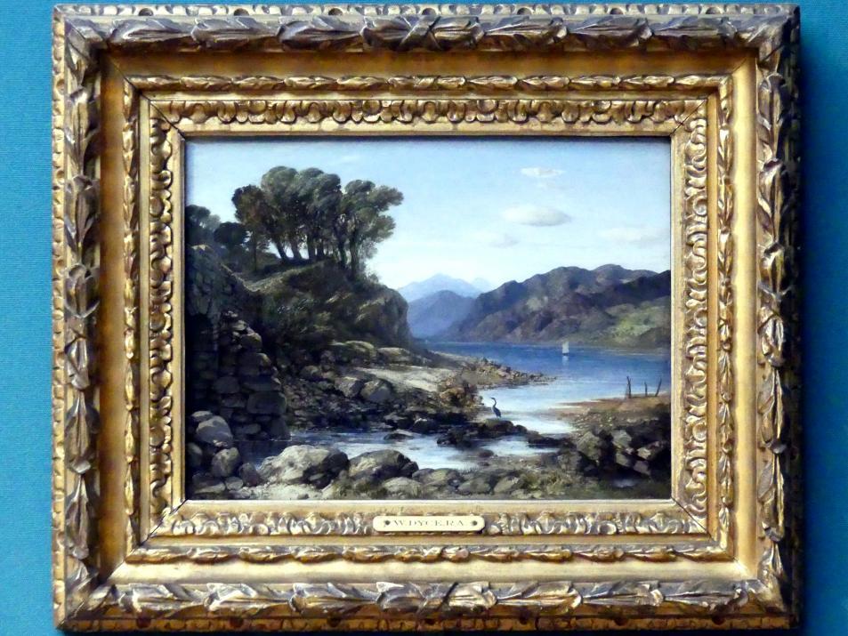William Dyce: Blick auf Loch Lomond (früher Shirrapburn Loch), um 1830 - 1840