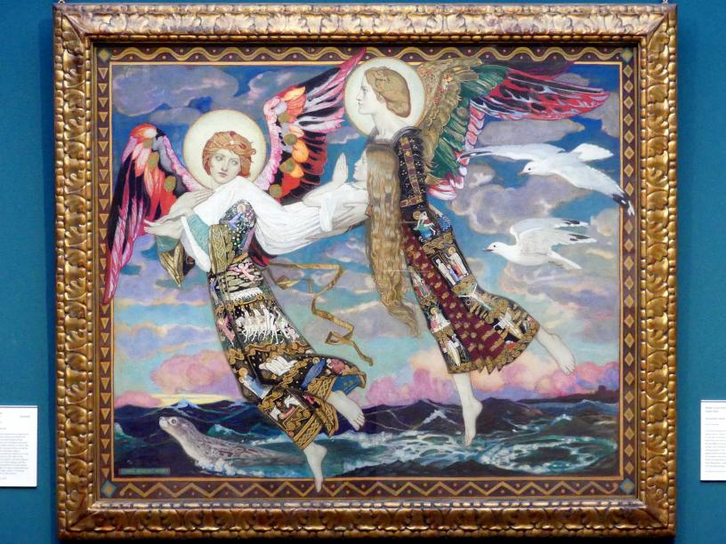 John Duncan: Heilige Brigida von Kildare, 1913