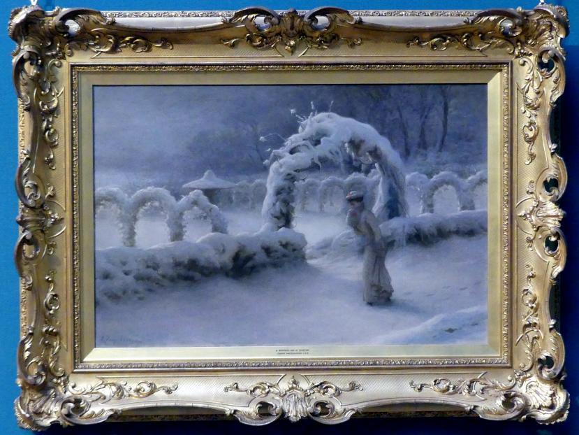 Joseph Farquharson: Wintertag in Finzean, um 1901