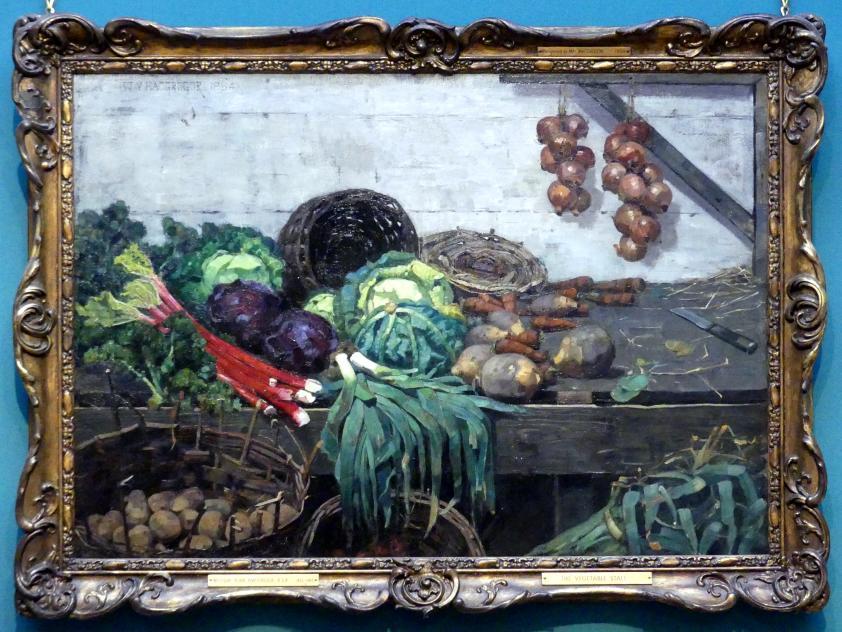 William York MacGregor: Gemüsestand, 1884