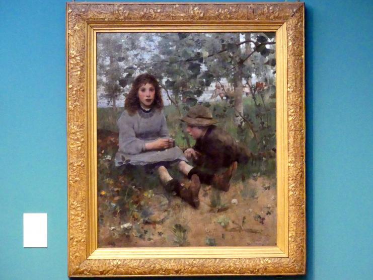 Edward Arthur Walton: Träumerei, 1885