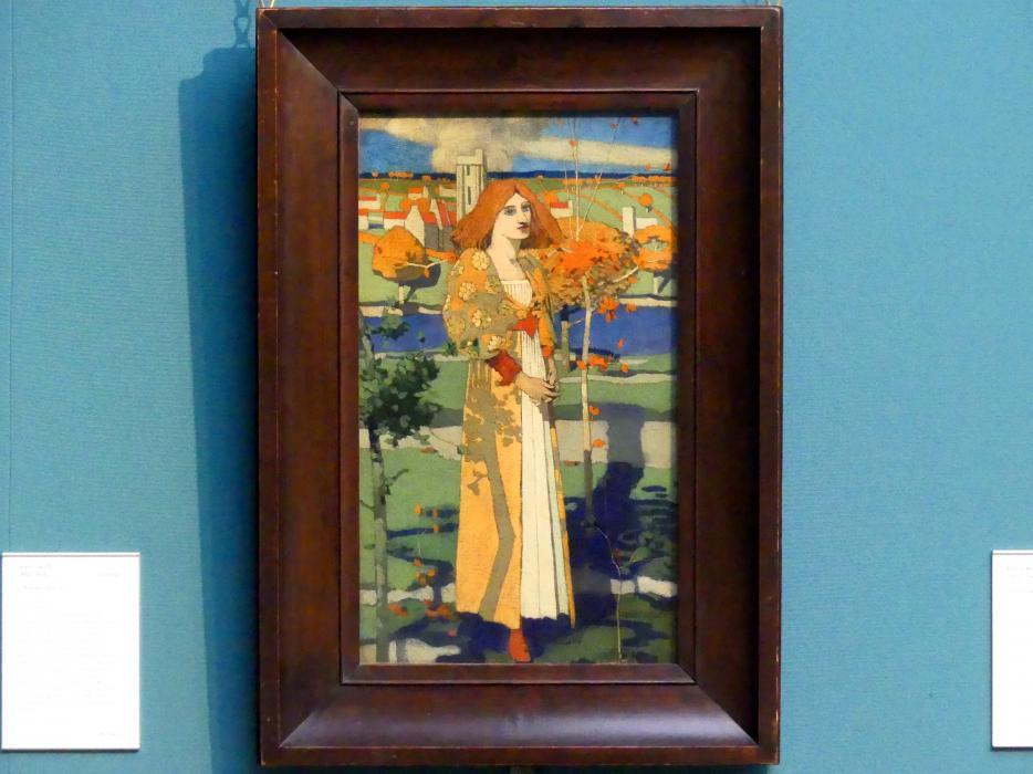 David Gauld: Heilige Agnes, 1889 - 1890