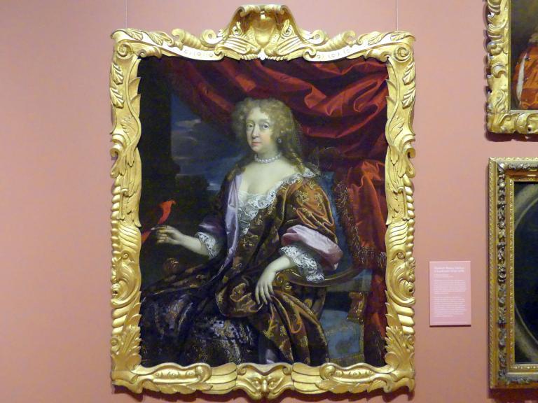Benedetto Gennari II: Elizabeth Murray, Herzogin von Lauderdale (1626-1698), um 1679