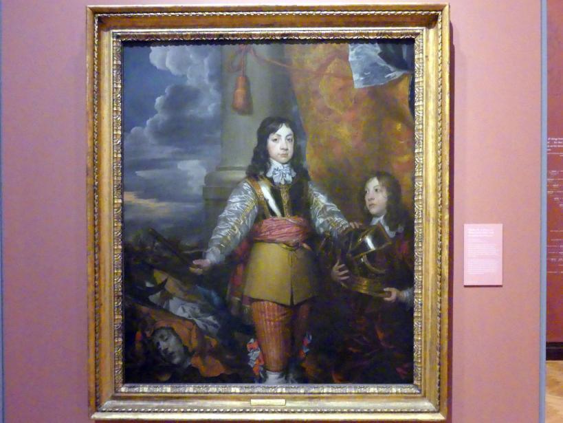 William Dobson: Karl II. als Prinz von Wales (1630-1685) mit einem unbekannten Diener, um 1643