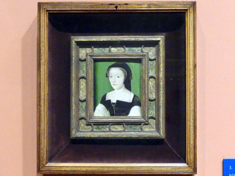 Corneille de Lyon: Mary of Guise (1515-1560), um 1537