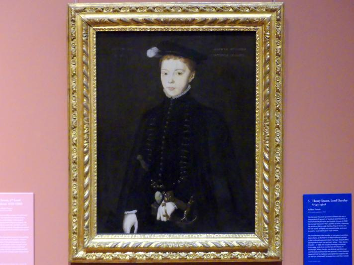 Hans Eworth: Henry Stuart, Lord Darnley (1545-1567), 1555