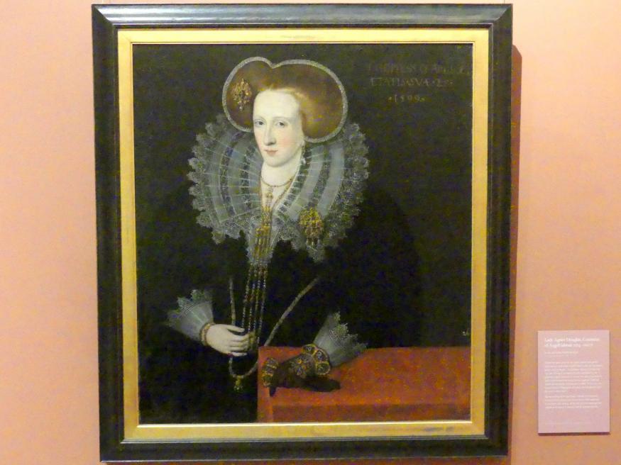 Lady Agnes Douglas, Gräfin von Argyll (um 1574-1607), 1599