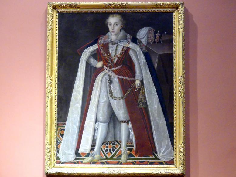 Robert Peake der Ältere: Henry, Prince of Wales, als Herzog von Rothesay und Cornwall (1594-1612), 1604