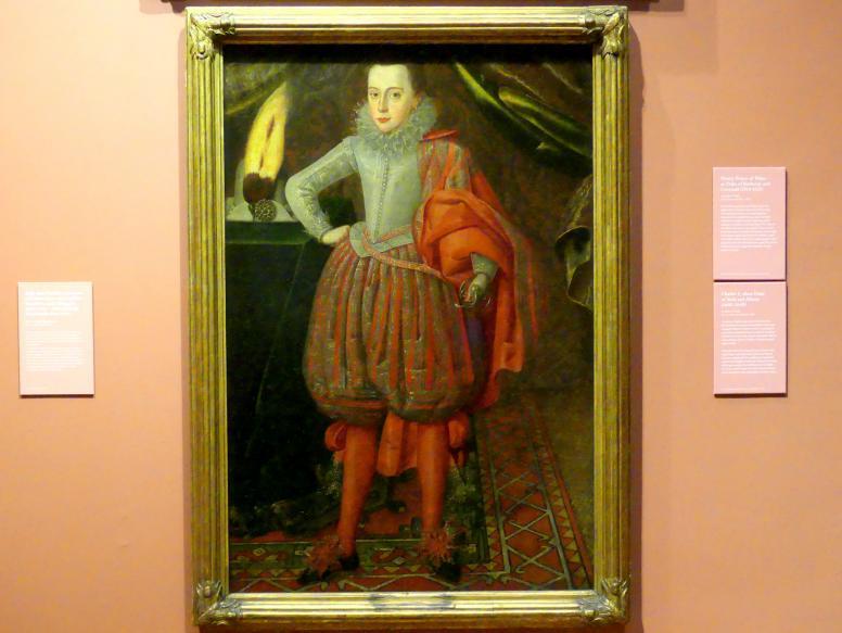 Robert Peake der Ältere: Karl I. als Herzog von York und Albany, um 1610