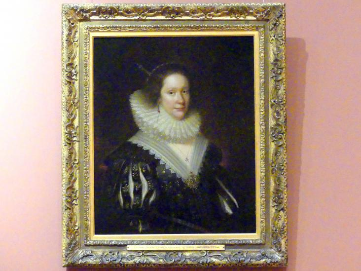George Jamesone: Lady Mary Erskine, Gräfin Marischal (um 1597 - nach 1626), 1626