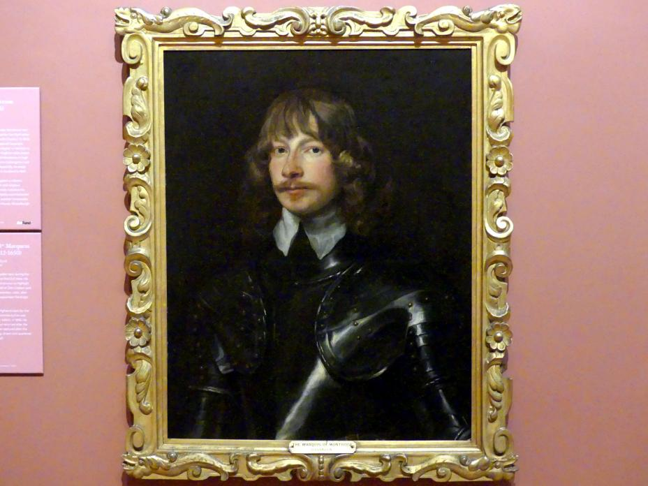 Anthonis (Anton) van Dyck (Werkstatt): James Graham, 1. Marquess of Montrose (1612-1650), um 1636