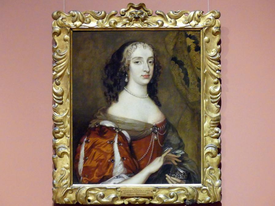 Adriaen Hanneman: Henriette Anne von England, Herzogin von Orléans (1644-1670), 1659