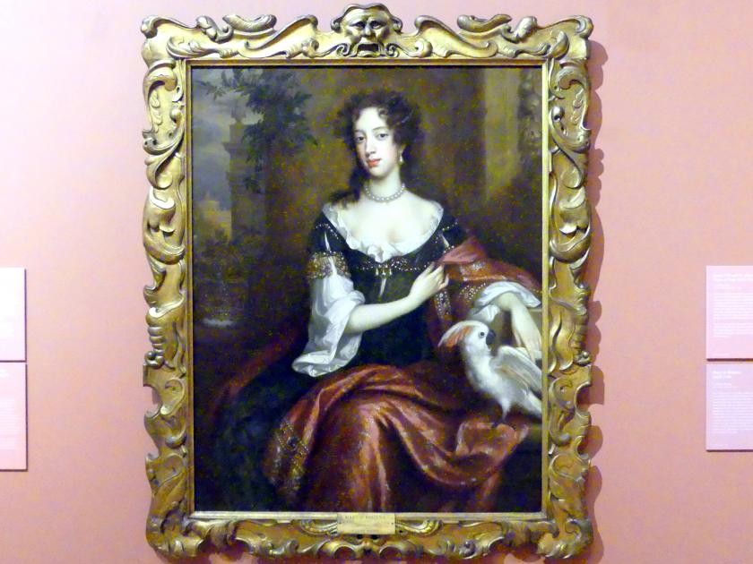 Willem Wissing: Maria Beatrice d'Este (1658–1718), 1687