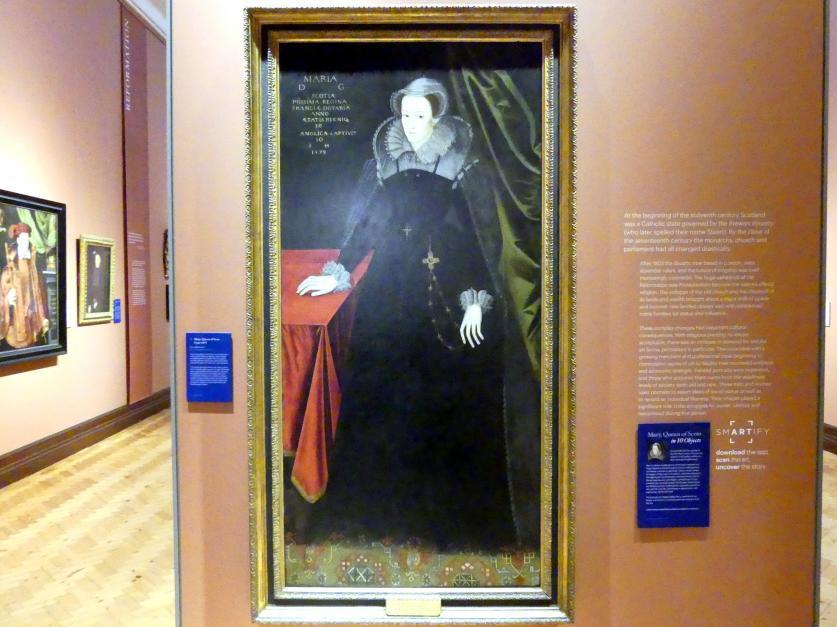 Mary, Königin von Schottland (1542-1587), um 1610 - 1615