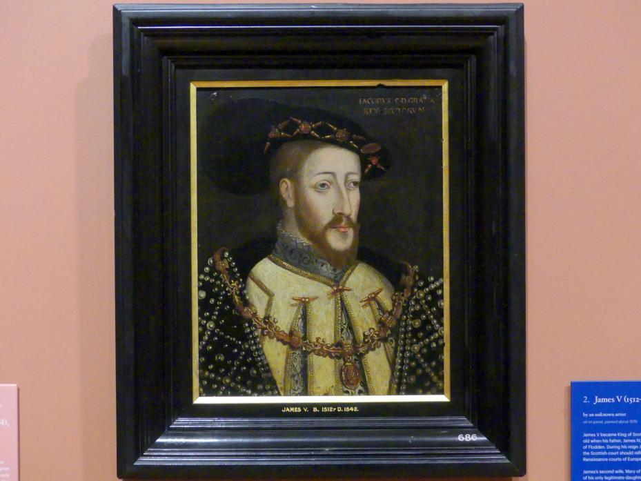 James V (1512-1542), um 1579