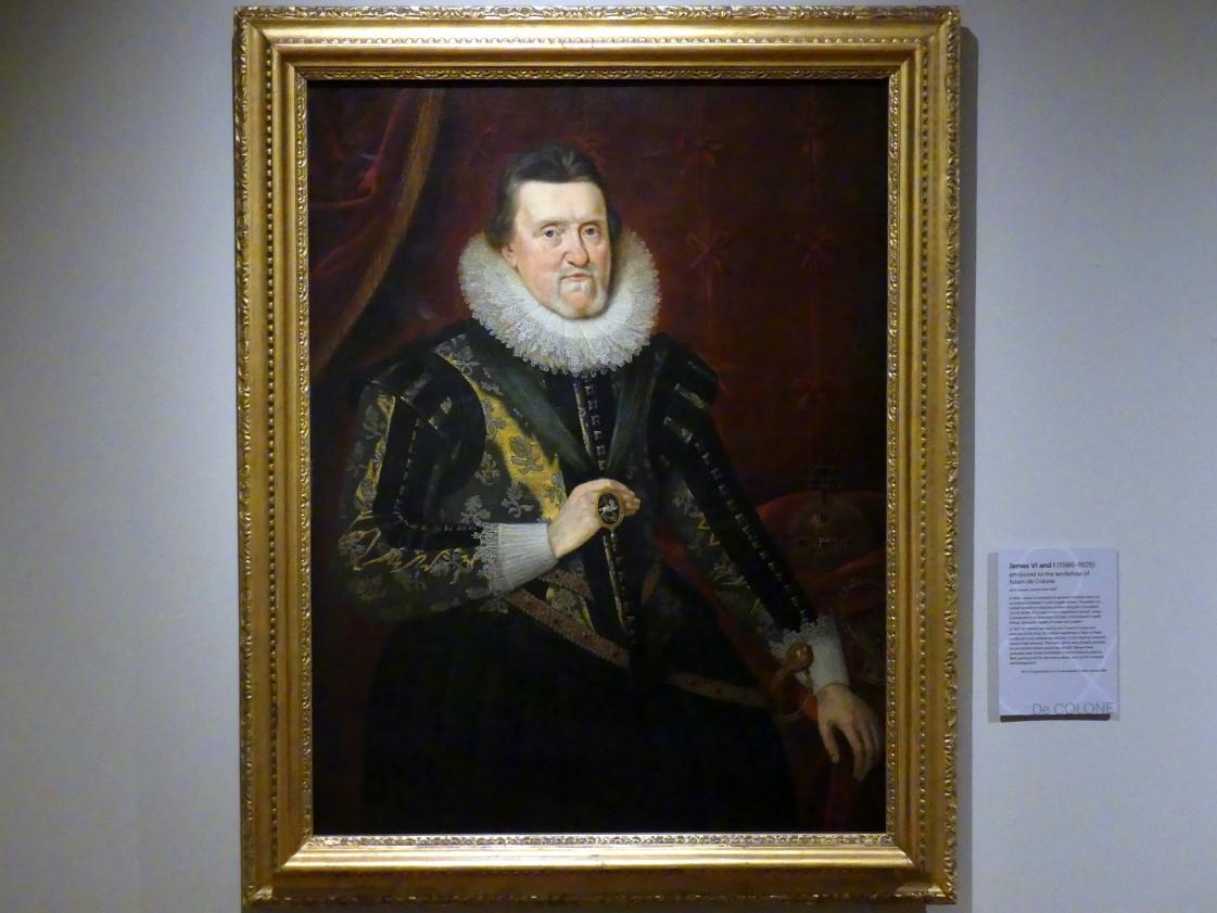 Adam Louisz. de Colonia (Werkstatt): James VI und I (1566-1625), nach 1622