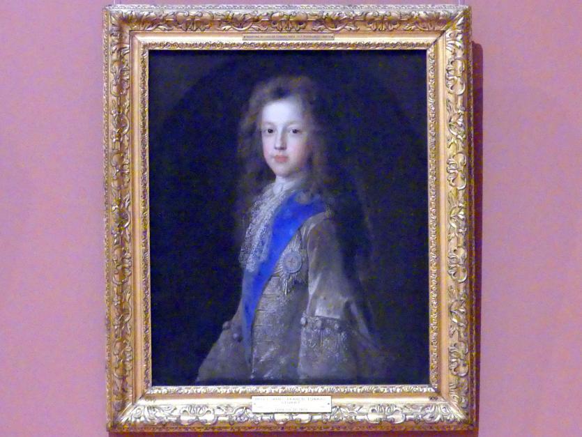Jean François de Troy: Prinz James Francis Edward Stuart (1688-1766), Undatiert