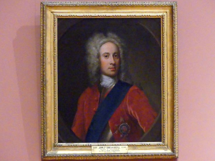 William Aikman: John Campbell, 2. Duke of Argyll (1680-1743), um 1720