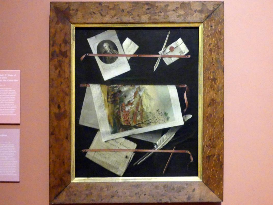 Thomas Keyse: Culloden Quodlibet, 1765