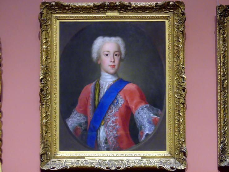 Antonio David: Prinz Charles Edward Stuart (1720 - 1788), 1732