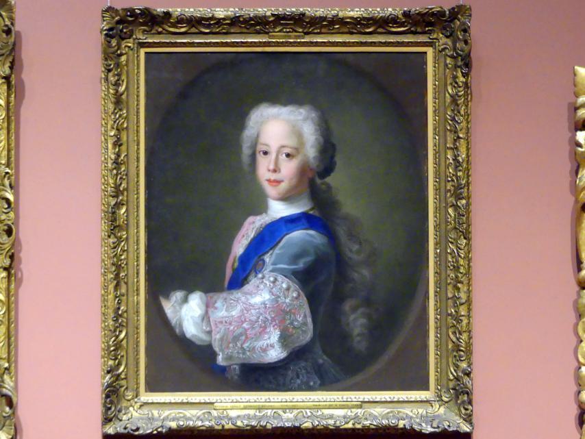 Antonio David: Prinz Henry Benedict Stuart (1725 - 1807), 1732