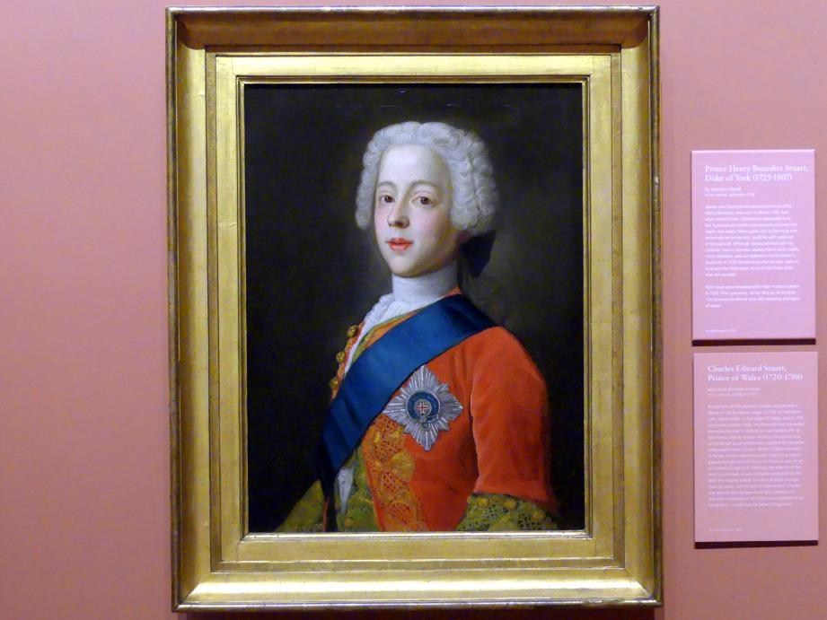 Charles Edward Stuart, Prince of Wales (1720-1788), 1737